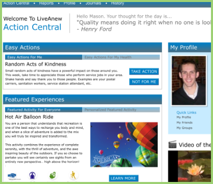 Action Central For Individuals